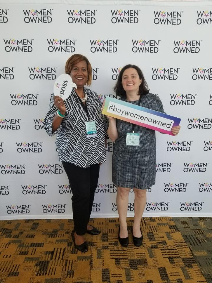 The Hannon Group team at WBENC